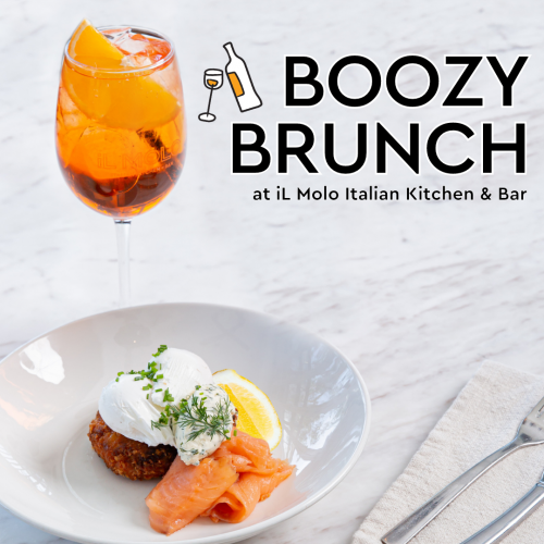 Boozy Brunch at iL Molo Italian Kitchen & Bar